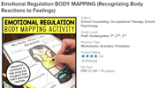 Emotional Regulation Body Mapping