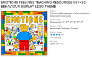 Emotions feelings teaching